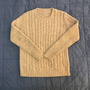 Marled wool pullover